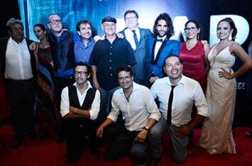 Actores asistieron a la Alfombra Roja de la película Rapto