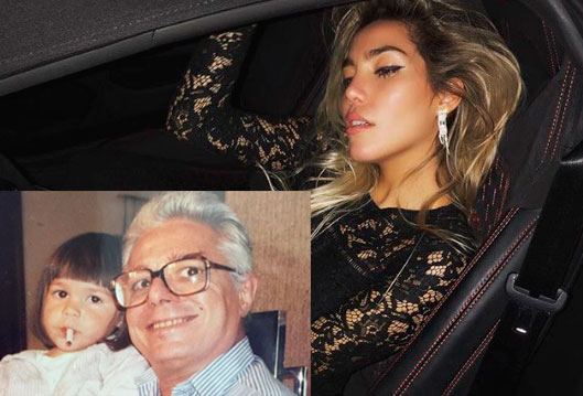 Frida Sofía culpa a su abuelo de incitarla a fumar