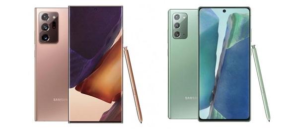 Samsung Galaxy Note 20 y Note 20 Ultra