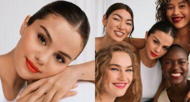 Selena Gomez lanza su nueva linea de maquillaje libre de estereotipos