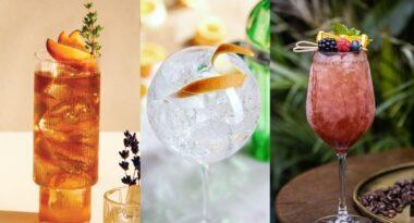Tres cócteles para celebrar la llegada de la primavera