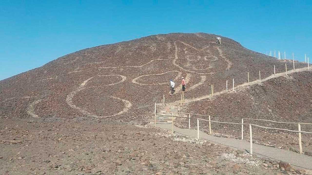 geoglifo en las pampas de nazca