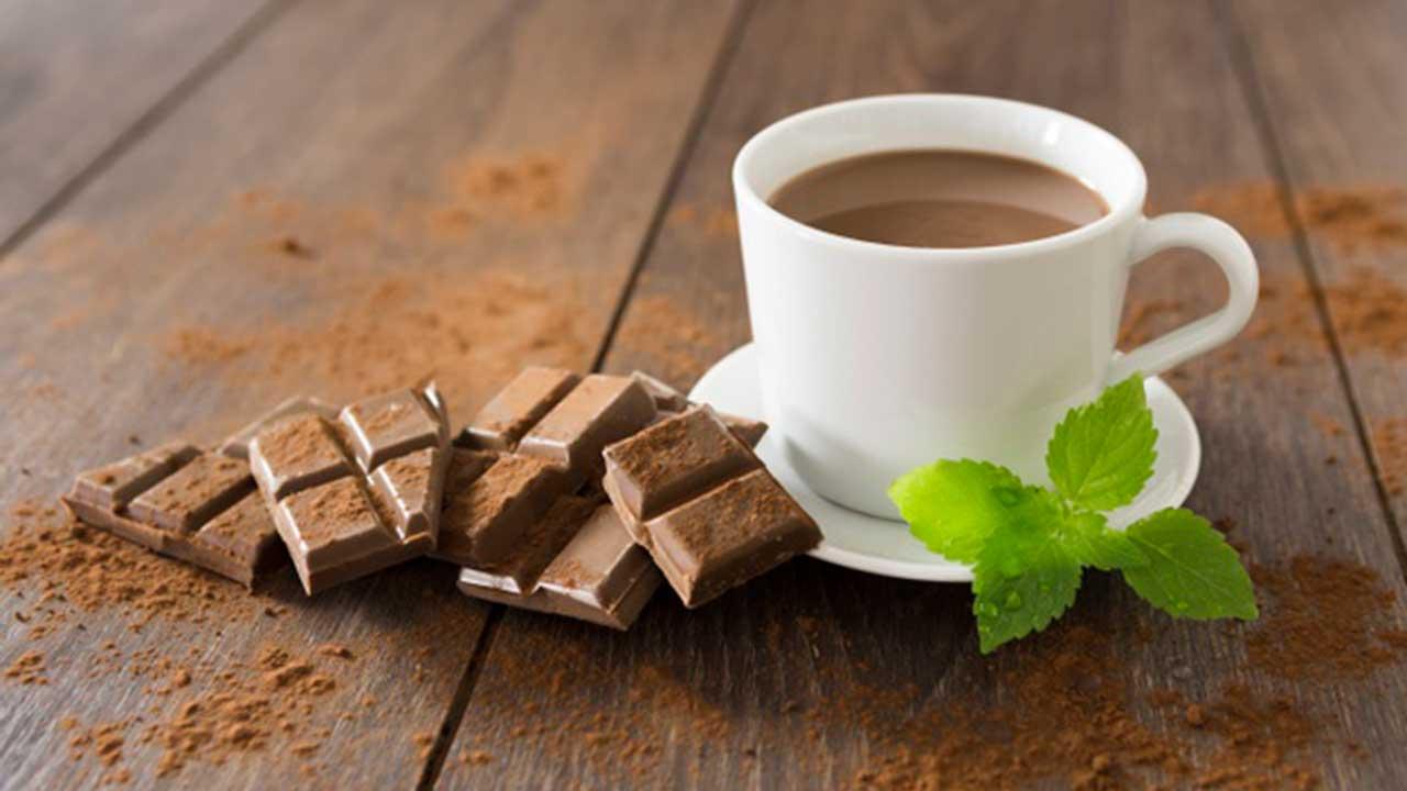 Chocolate en taza
