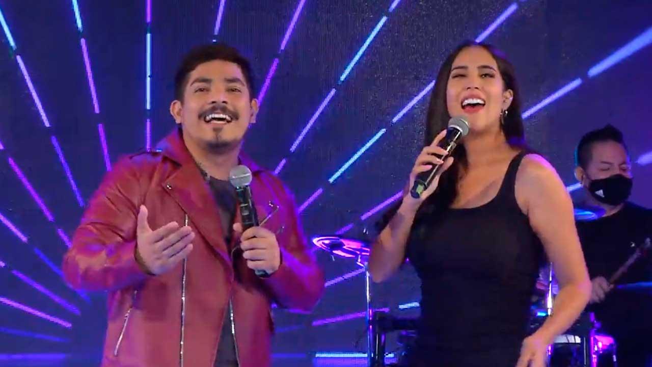 Erick Elera y Melissa Paredes