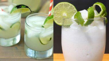Limonada Frozen y Limonada de coco