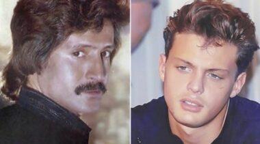 Luis Miguel y su padre