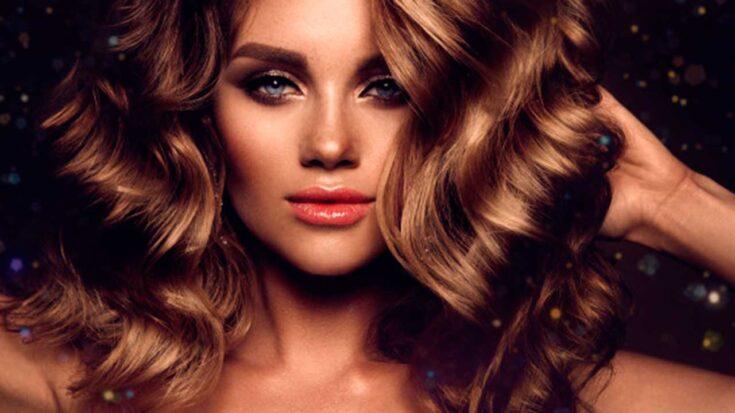 cabello hermoso con vitamina E