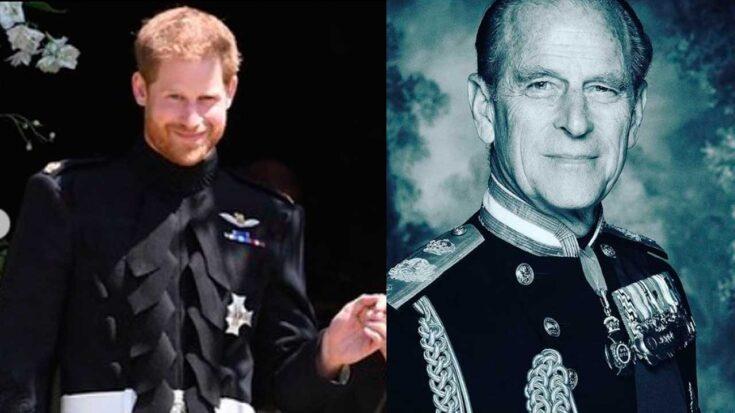 El príncipe Harry llega al Reino Unido