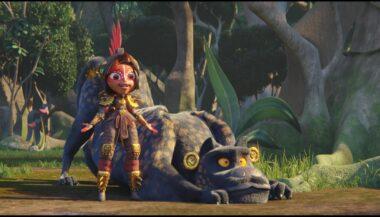 'Maya y los tres'