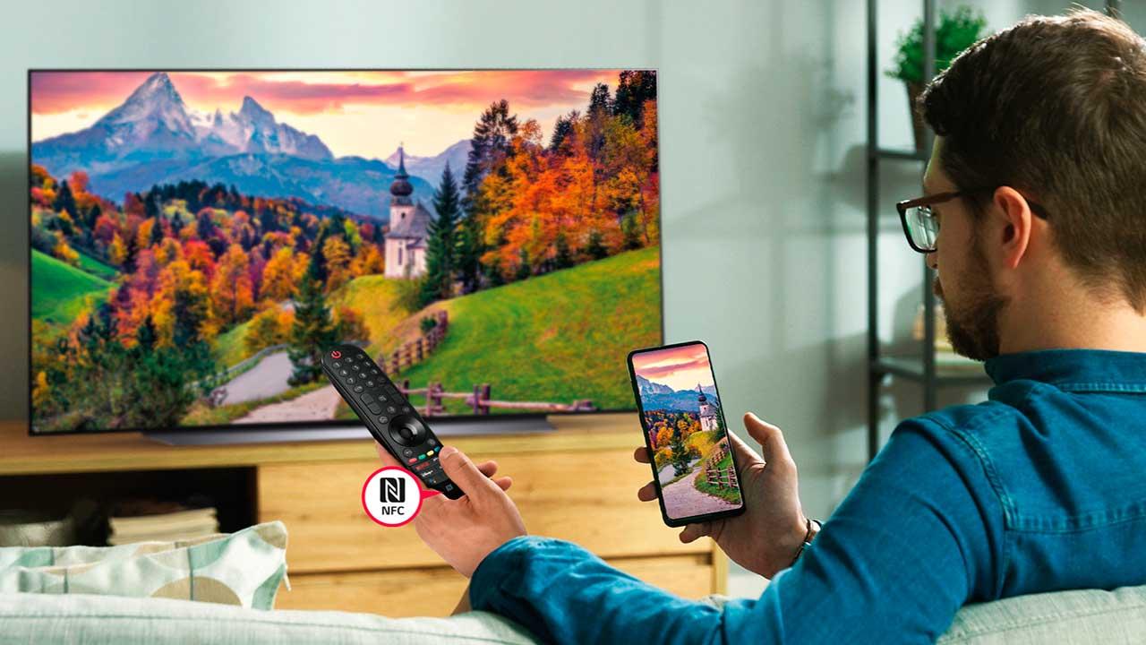 Televisor con tecnología